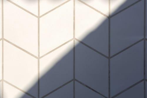 Tiles by Huguet Mallorca seen at Arquia Banca, Palma - Arquia, by Ripoll Tizón