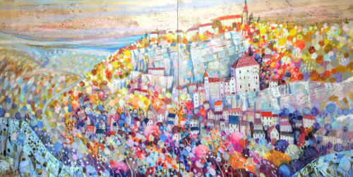 Paintings by BLYTHE SCOTT seen at Private Residence - 'Petit Matin'