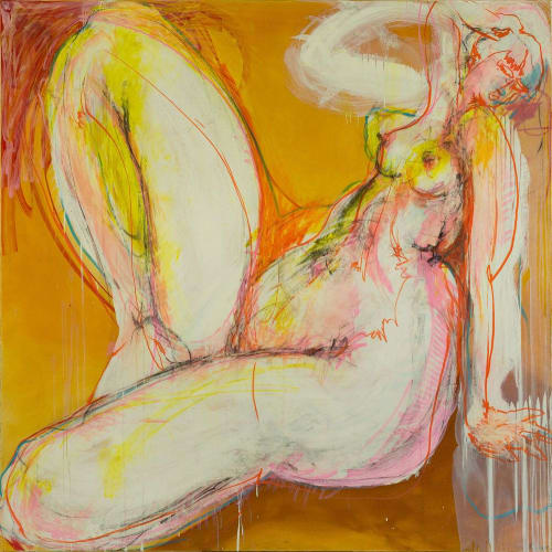 Paintings by Craig Ruddy seen at Totem Road, Paddington - Sunshine