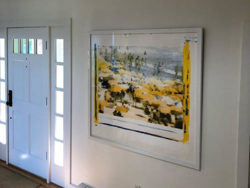 Paintings by Philip Buller seen at Private Residence, Nantucket - EVERY ONE Series