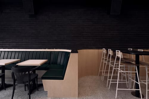 Chairs by Appareil Atelier seen at Bar St-Denis, Montréal - Floe High