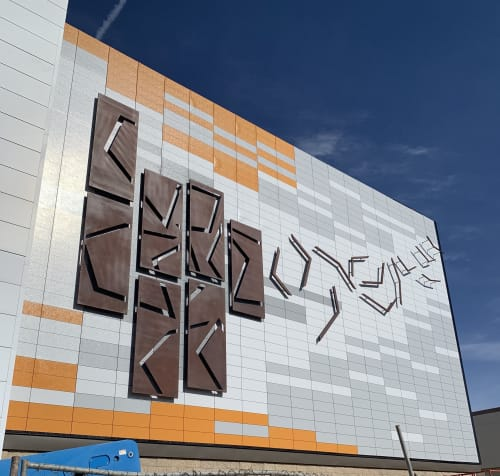 Public Art by Daniel Moore-The Oxide Studio seen at 8303 S Priest Dr, Tempe - Chaos ReStored