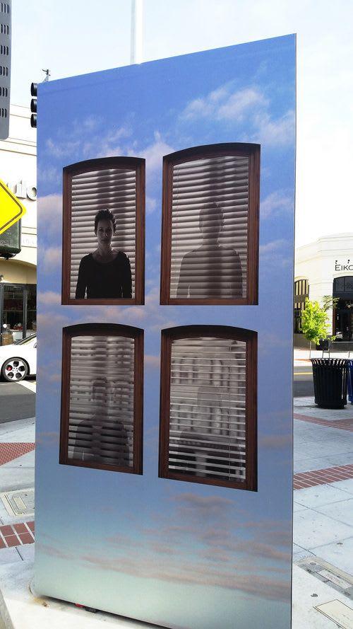 "Public Mosaics by Kopol Bonick Art & Photography seen at Napa, Napa - ""Windows in the Sky"""