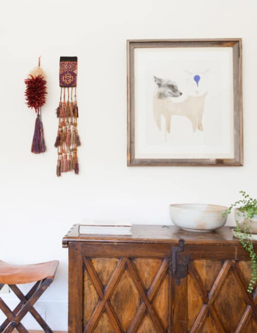 Paintings by Meagan Donegan at Private Residence, Seattle - Fox Drawing