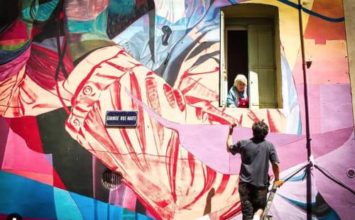 RATUR (Arthur Maslard) - Murals and Art