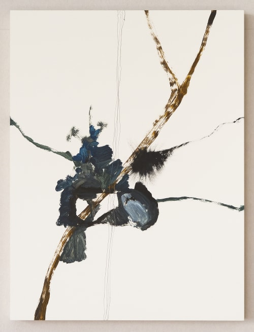 Paintings by Irina Alimanestianu - painter at Private Residence, New York - 1. Bird's Nest and  2. Robin's Egg.