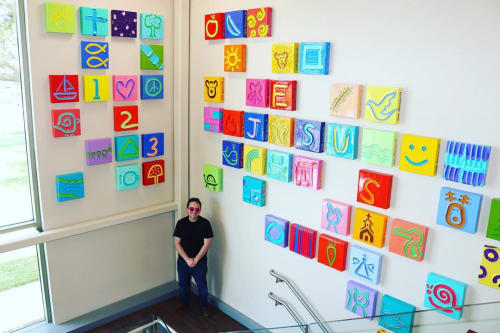 Paintings by Jeff Hanson seen at AdventHealth Shawnee Mission, Overland Park - Jeff Hanson Art Collection of 70 paintings