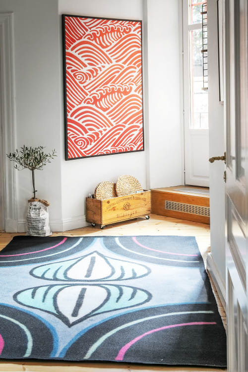 Rugs by Luminea Rugs seen at Private Residence, Stockholm - Bud