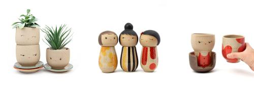 Jennifer Fujimoto - Sculptures and Tableware