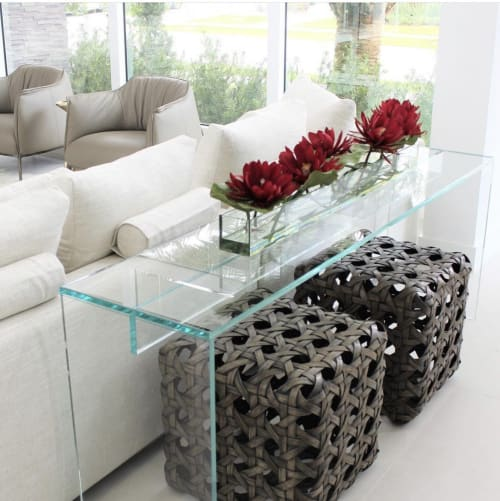 Tables by Gusto Design Collection seen at 12471 SW 130th St, Miami - SOPHIA CONSOLE TABLE