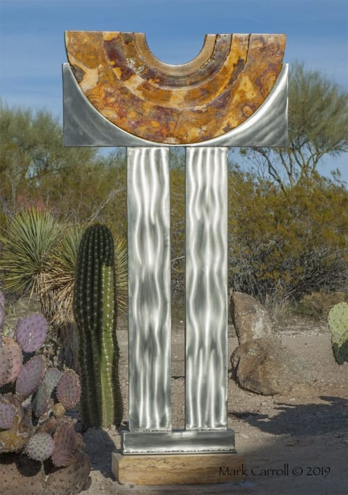 Sculptures by The Sculpture Studio LLC seen at Private Residence, Cave Creek - Offering