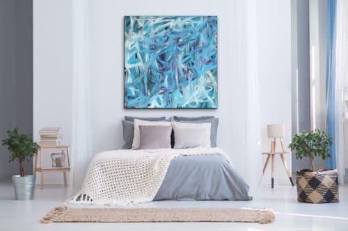 Paintings by LA TOYA JONES seen at Creator's Studio, Dallas - Evening Jazz
