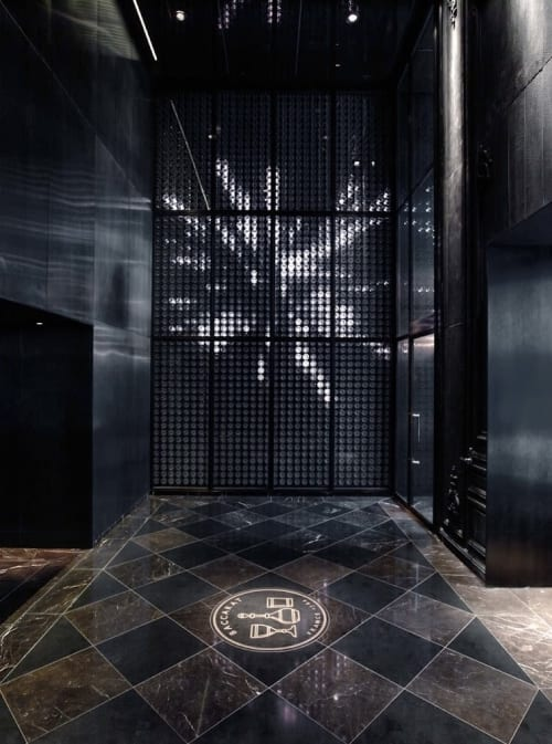 Lighting by Hypersonic Engineering & Design seen at Baccarat Hotel & Residences New York, New York - Harcourt Wall
