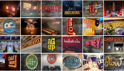 Vintage Marquee Lights - Art and Signage