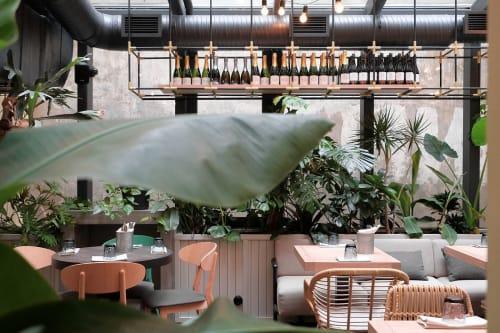 Interior Design by DA bureau seen at Jungle, Sankt-Peterburg - Jungle Cafe