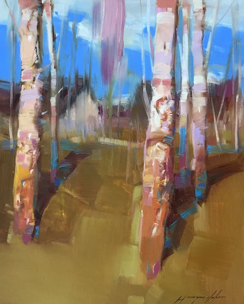 Paintings by Vahe Yeremyan seen at Los Angeles, Los Angeles - Birches Grove