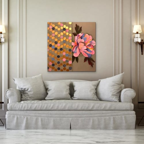 Paintings by RH Zondag Studio seen at Private Residence, Milwaukee - Painting