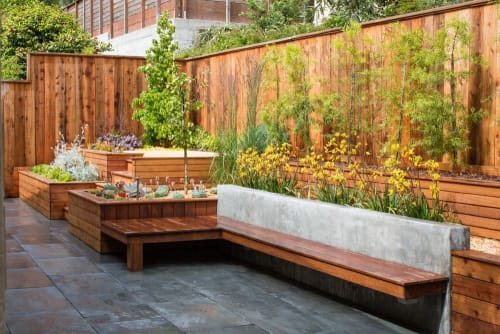 Architecture by RareField Design/Build seen at Private Residence, San Francisco - Inner Sunset Garden