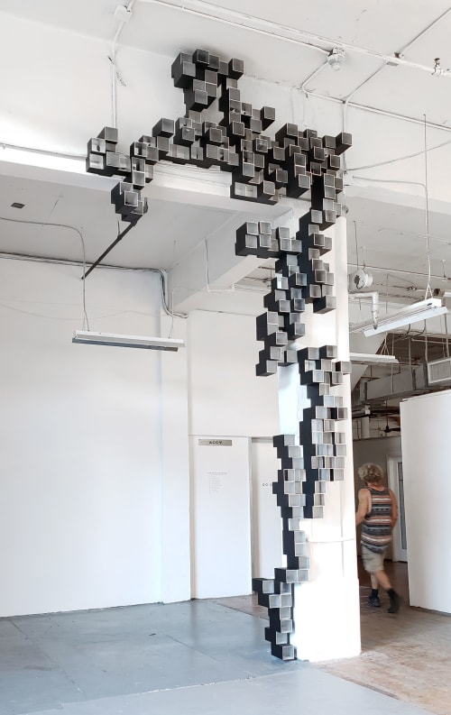 Sculptures by Troy Simmons seen at Bakehouse Art Complex, Miami - BERCHEMIA