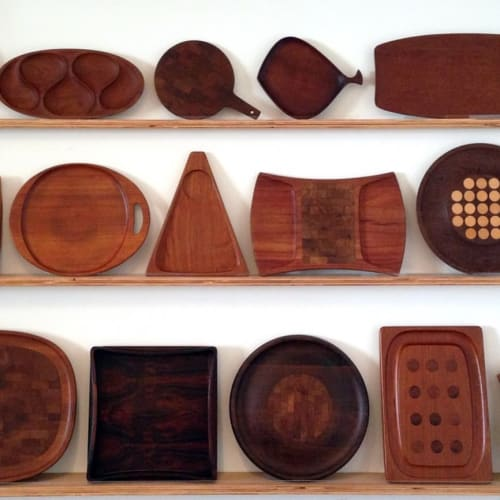 Furniture by Alabama Sawyer seen at Object, Los Angeles - Shelves and Cases