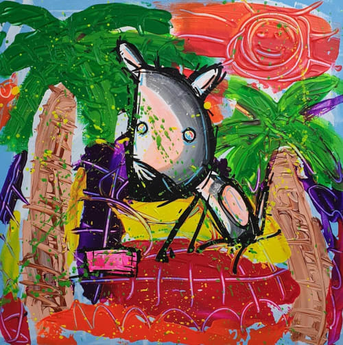 Jimmy Bamble - Paintings and Murals