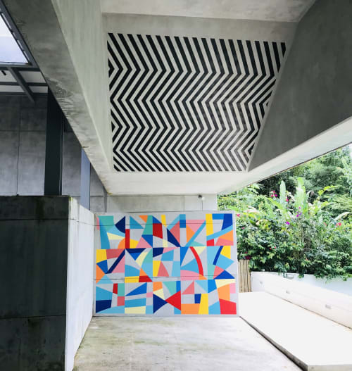Murals by Love bErto seen at Private Residence - OSA