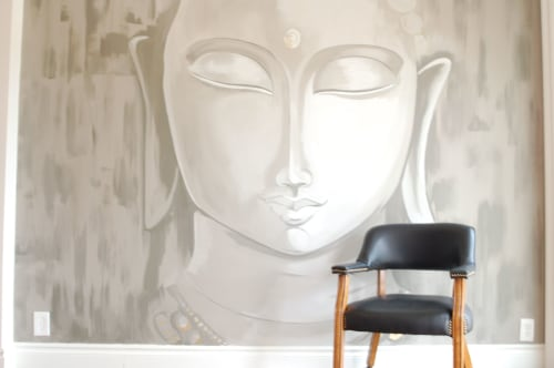Murals by REBECCA BARBOUR seen at Private Residence, Austin - Mural