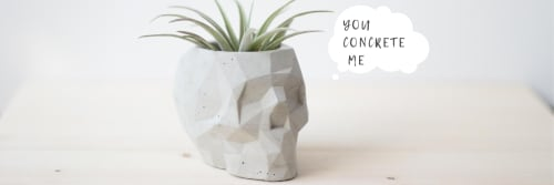 You Concrete Me - Vases & Vessels and Floral & Garden