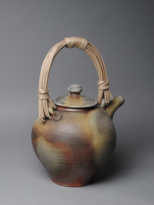 Tableware by John McCoy Pottery seen at Private Residence, Baton Rouge - Teapot