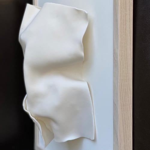 Sculptures by ReCheng Tsang seen at Private Residence, San Francisco - Tuck and Fold series