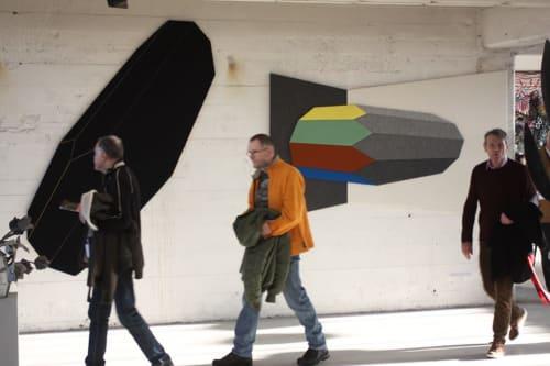 Art & Wall Decor by Driessens & van den Baar WANDSCHAPPEN seen at Object Rotterdam, Rotterdam - Soundscapes