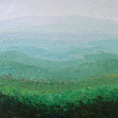 Paintings by Ann Marie Coolick Fine Art - Mountain Painting