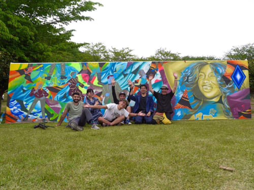 WHOLE9 - Murals and Street Murals