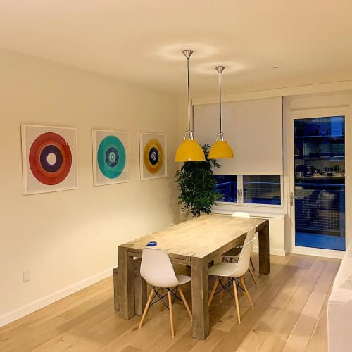 Photography by Richard Heeps seen at Private Residence, New York - Heidler & Heeps B Side Vinyl Collection