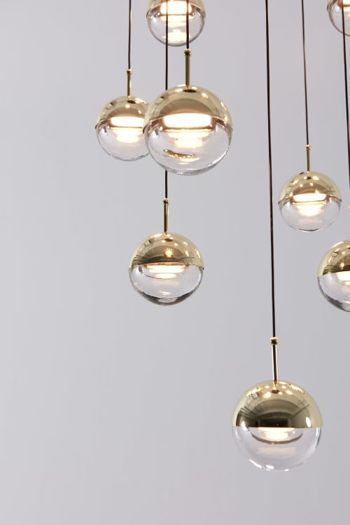 Pendants by SEED Design USA seen at 858 Lind Ave SW, Renton - DORA Pendant P12 / PC12