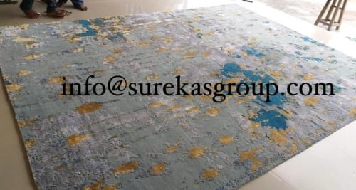 Tibetan Wool And Bamboo Silk Rugs By