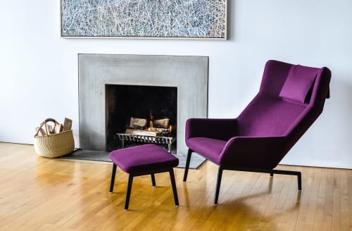 Chairs by Niels Bendtsen seen at Private Residence, Vancouver - Park lounge Chair