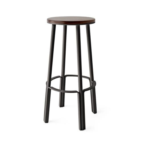 Chairs by Makr seen at Mohawk WEST, Santa Monica - Factory Stool 28""