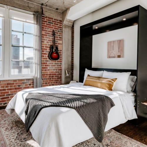 Pillows by Selva Studio seen at Private Residence, Denver - Desierto