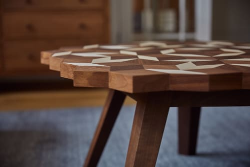 Tables by Alexander Hay Design seen at Private Residence, Oxford - Penrose Table