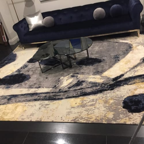 Rugs by MASTOUR Fine Rugs seen at Private Residence, New York - Modern Rug