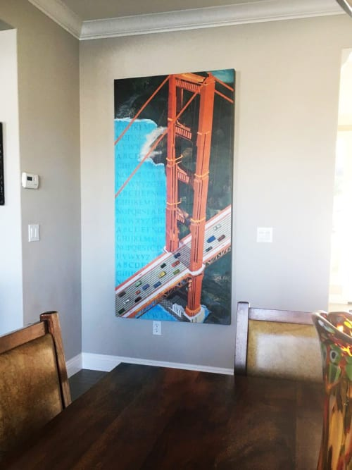 Paintings by Kerri Warner seen at Private Residence, San Francisco - Light Traffic