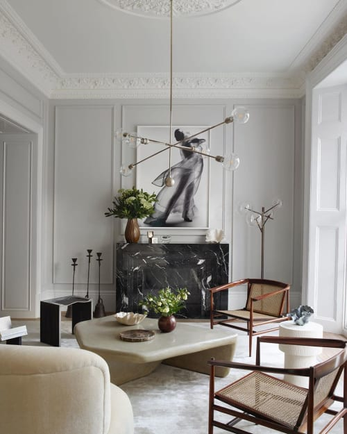Tables by Tuomas Markunpoika seen at Private Residence, London - Contra Naturam coffee table