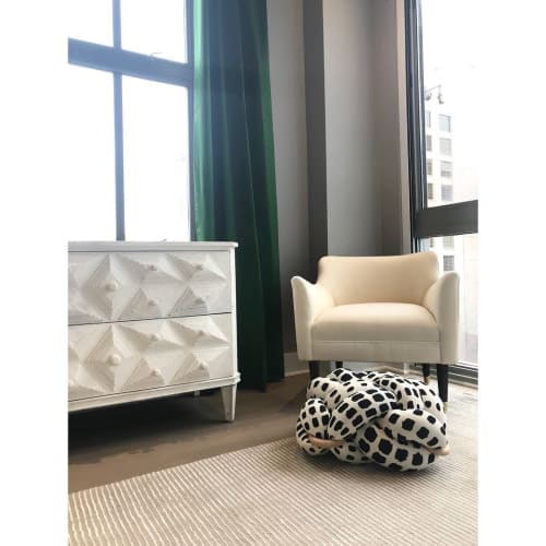 Couches & Sofas by Knots Studio By Neta Tesler seen at Private Residence, New York - Cushion
