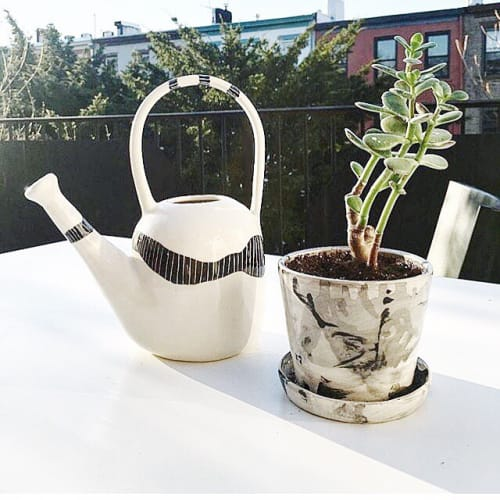 Vases & Vessels by btw Ceramics at Private Residence, Brooklyn - Ceramic Planter