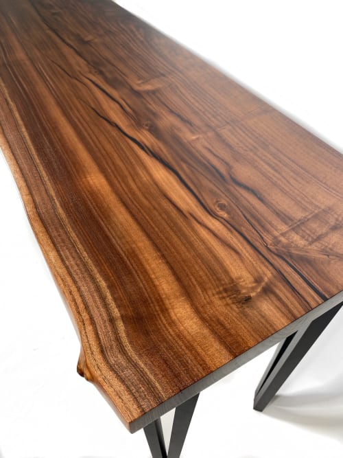 Walnut Desk   Tables by Live Edge Lust