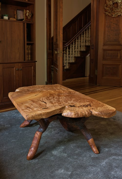 Big Leaf Maple Burl Tables | Tables by Keep Furniture
