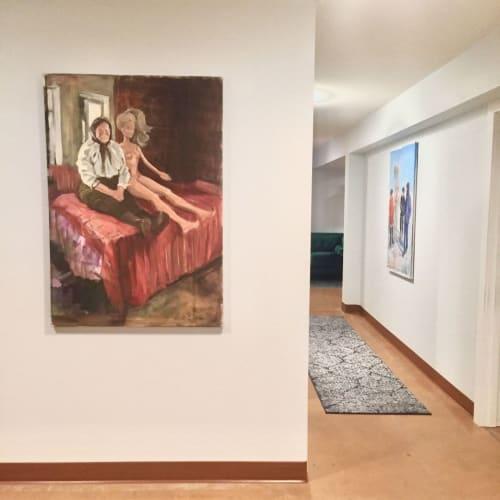 Paintings by Tatyana Ostapenko seen at Pretty Sweet Sugaring Studio, Portland - Barbie