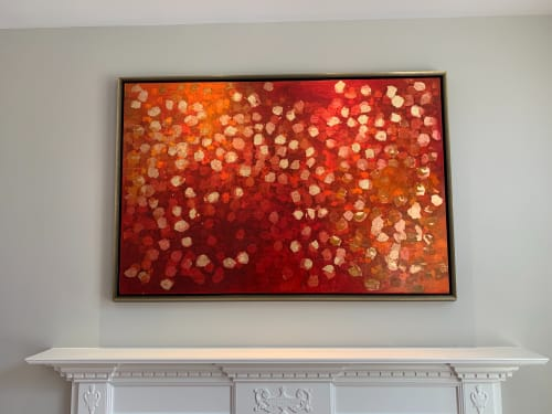 Interior Design by Chelsea Davine Artist seen at Private Residence - Private commission New Jersey