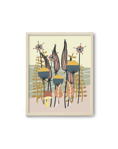 Paintings by Birdsong Prints - Scandinavian Folk Art Print